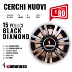 CERCHI NUOVI 15'' BLACK DIAMOND